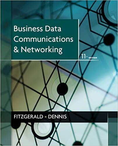 Solution Manual for Business Data Communications and Networking