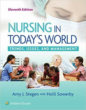 Nursing in Today's World: Trends
