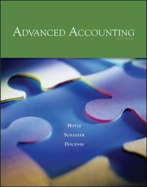Solution Manual for Advanced Accounting