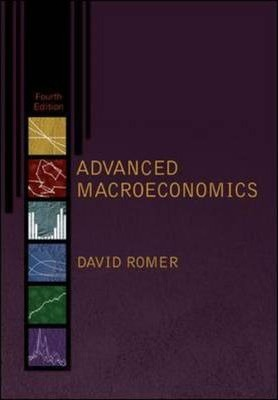 Solution Manual for Advanced Macroeconomics