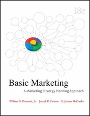 Solution Manual for Basic Marketing: A Marketing Strategy Planning Approach