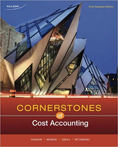Solution Manual for Cornerstones of Cost Accounting