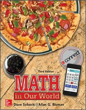 Solution Manual for Math in Our World