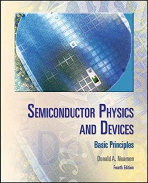 Solution Manual for Semiconductor Physics And Devices: Basic Principles