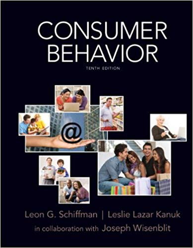 Test Bank for Consumer Behavior