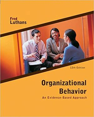 Test Bank for Organizational Behavior